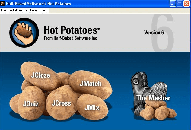 Hot Potatoes options